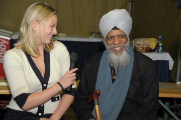 Stephanie Linka and Dr. Lonnie Smith